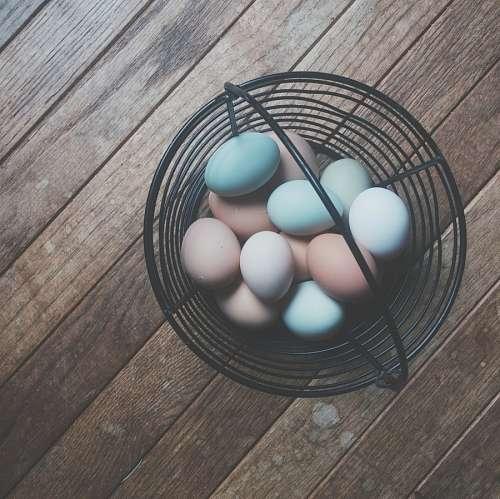 imágenes gratis Canasta con Huevos