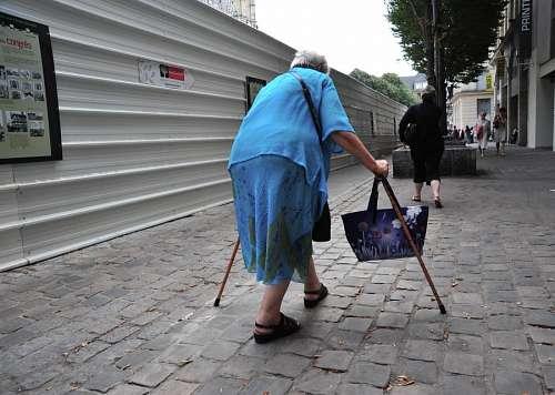 imágenes gratis Mujer anciana