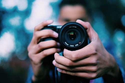 imágenes gratis Hombre tomando fotografia