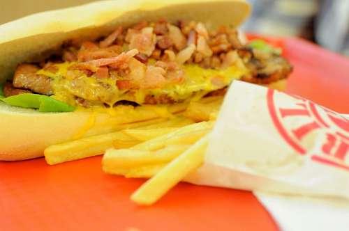 imágenes gratis Sandwich de Carne