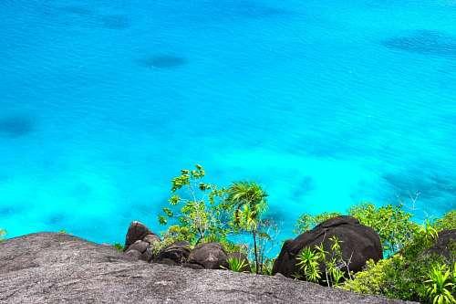 imágenes gratis Mar azul