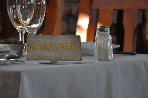 imágenes gratis reservado restaurante