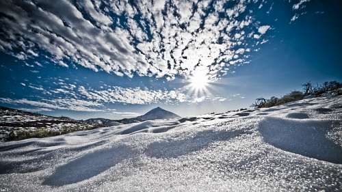imagenes gratis Paisaje Nevado
