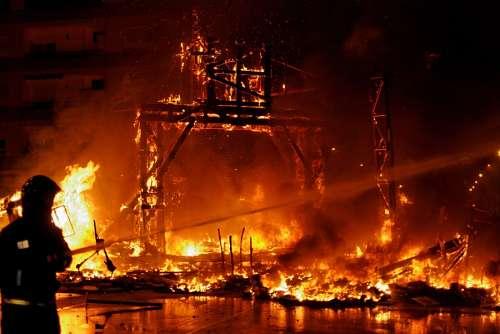 Valencia, Fallas, Falles, Fallas 2009, fuego, foc,