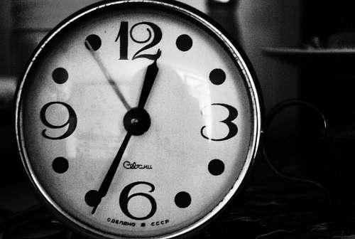 imágenes gratis Reloj blanco y Negro