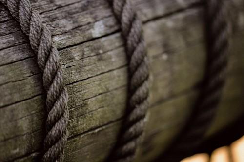 imágenes gratis Textura de cuerda sobre madera rustica
