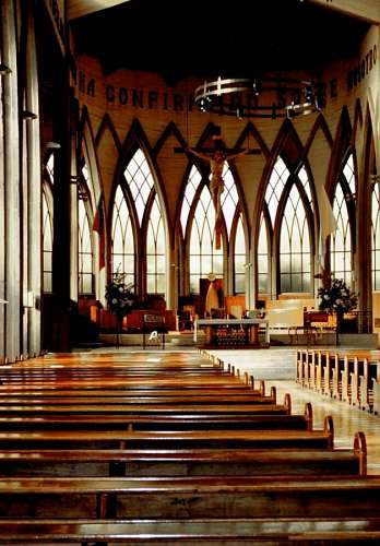 imágenes gratis interior, iglesia, osorno, chile, religion, catoli