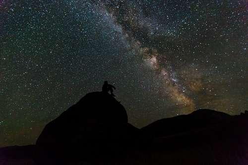 imágenes gratis Contemplando el universo