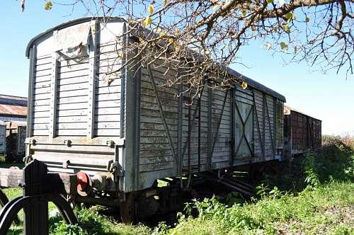 Vagon de Tren Abandonado