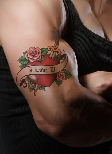 imágenes gratis Tatuaje de amor