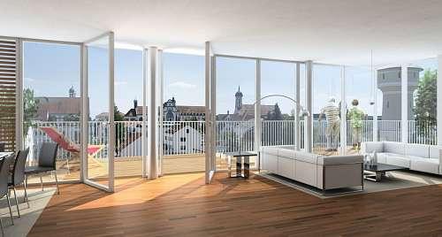 Interior de hogar minimalista
