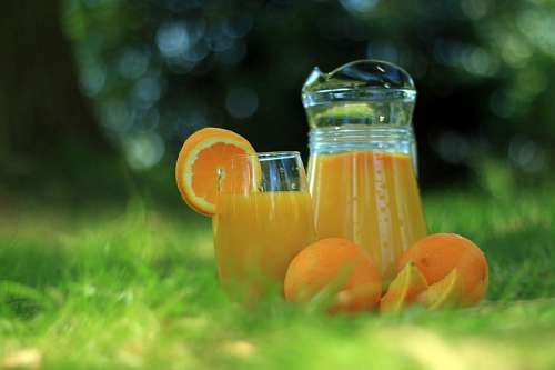 imágenes gratis Jugo de Naranja