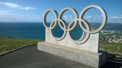 imágenes gratis Anillos Olimpicos