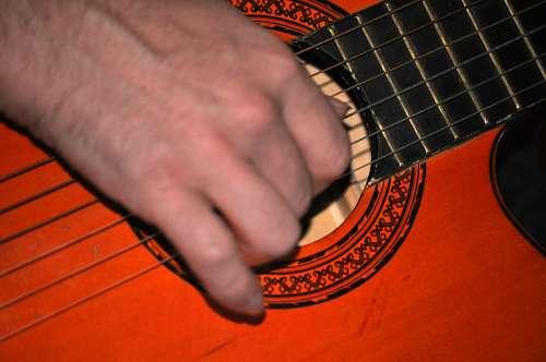 imágenes gratis Tocando la Guitarra