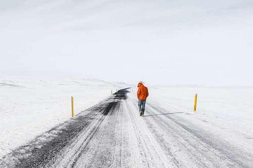 imágenes gratis Caminar en la nieve