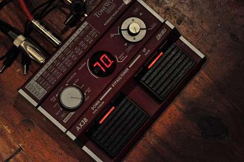 imágenes gratis Pedal de guitarra electrica musica