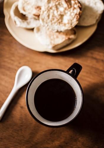 imágenes gratis Café con tostadas
