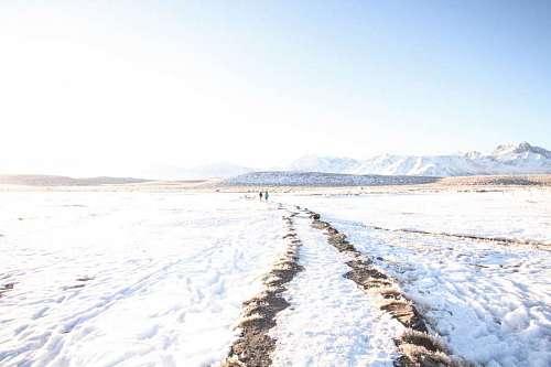 Caminar en la nieva