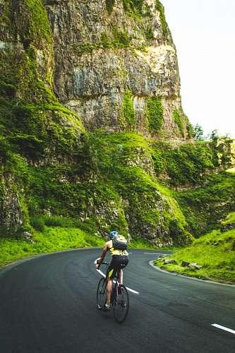 imágenes gratis Hombre andando en bicicleta