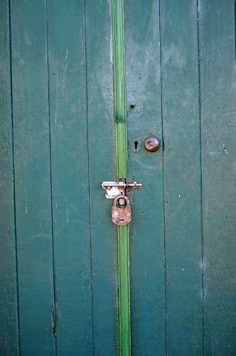 imágenes gratis Puerta con Candado