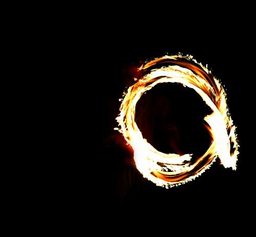 imágenes gratis Aro de fuego