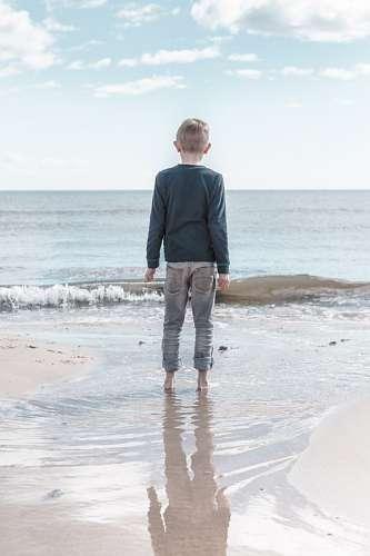 imágenes gratis Niño en la playa