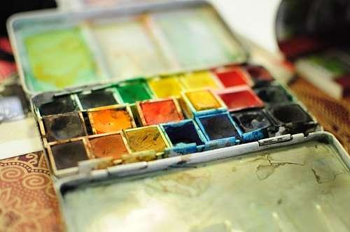 imágenes gratis peleta, color, colores, pintura, esmalte, colorido