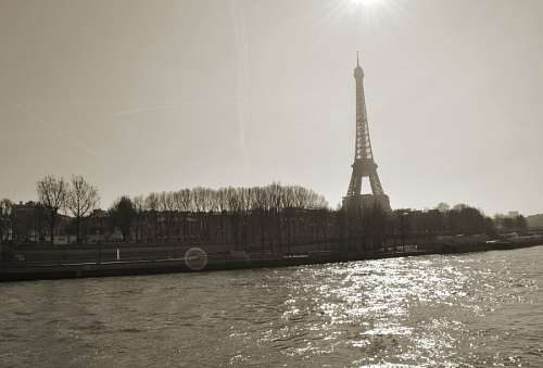 imágenes gratis Torre Eiffel, Paris, Francia