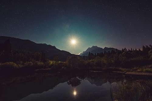 Estrella en la noche