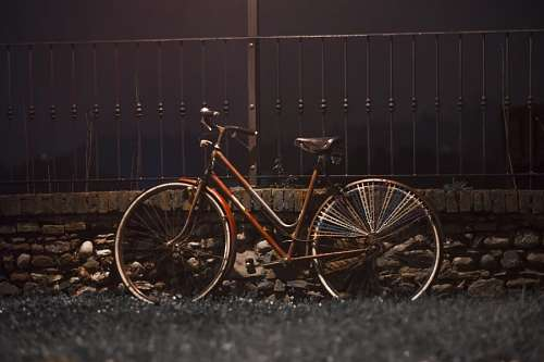 imágenes gratis Bicicleta Antigua