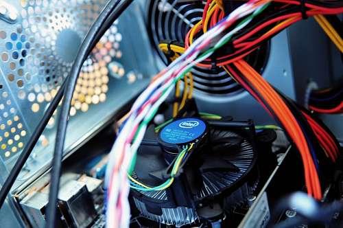 Interior de computadora