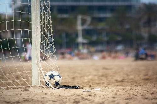 futbol, deporte pelota, arco, red, gol, arena, vis