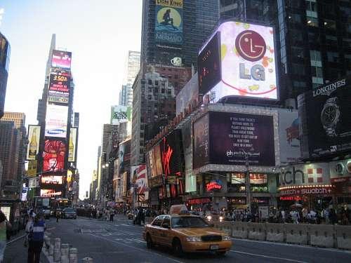imágenes gratis Times Square