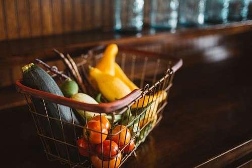 imágenes gratis Canaste de Vegetales