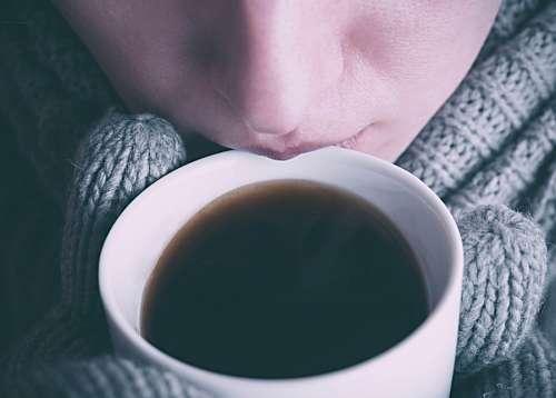 imágenes gratis Mujer tomando Cafe