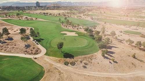 imágenes gratis Campo de golf