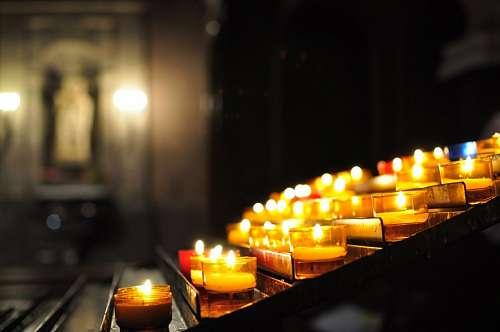vela, velas, luz, encendido, interior, rezo, rezar