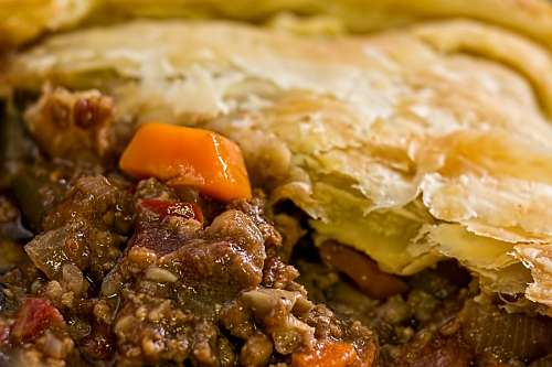imágenes gratis Pastel de Carne
