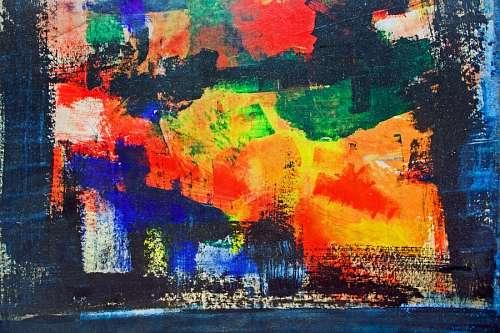 imágenes gratis Pintura abstracta