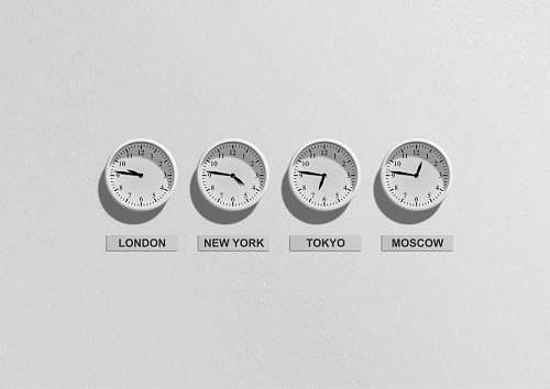 usos horarios