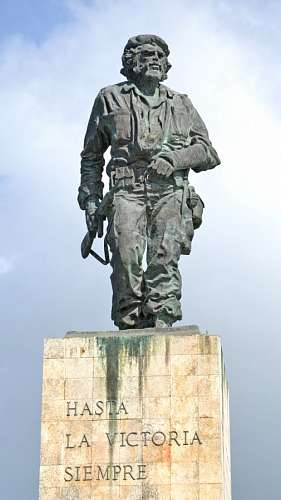 Estatua de Che Guevara en Cuba