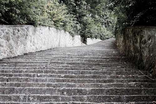 Escalera de la Muerte en Campo de concentración de Mauthausen-Gusen