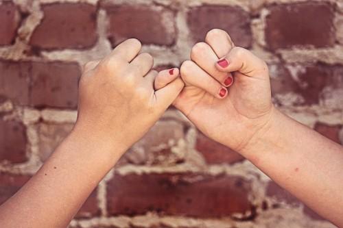 Amistad Promesa de amigas