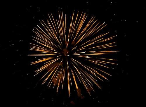 imágenes gratis Fuegos Artificiales coloreando el cielo del año nuevo