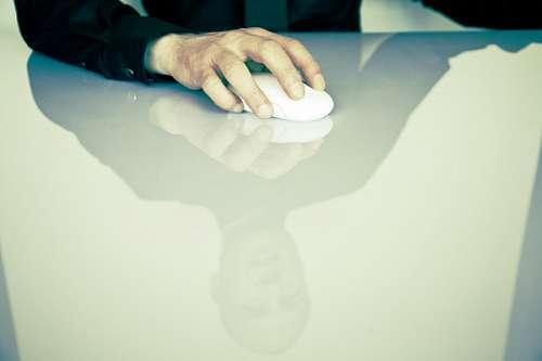imágenes gratis Hombre de Negocios con Mouse