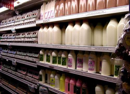 Leche en Supermercado