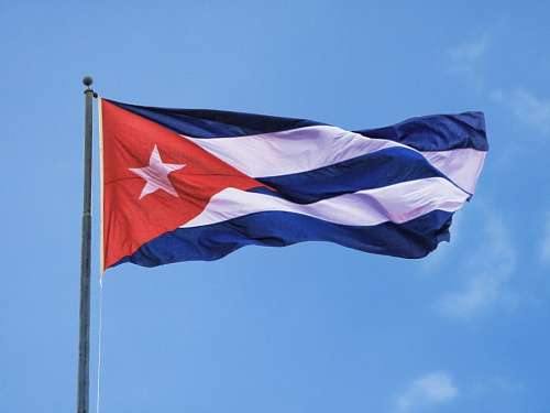 imágenes gratis Bandera de Cuba