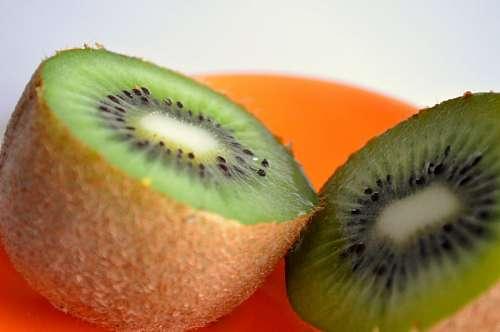 imágenes gratis fruta, mitad, kiwi, verde, dulce, comida, comer, p