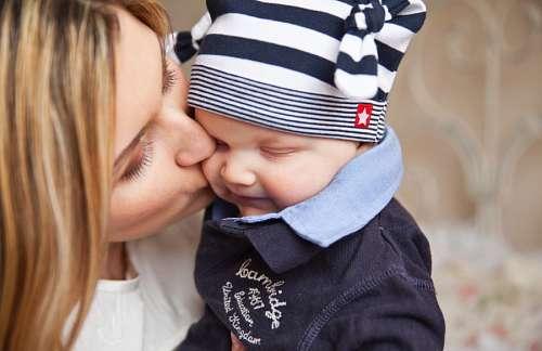 imágenes gratis Amor sincero de madre e hijo