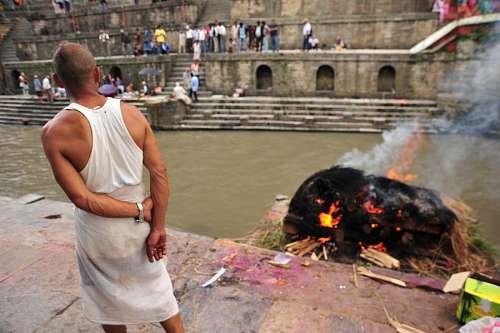 imágenes gratis Purificacion por fuego en India